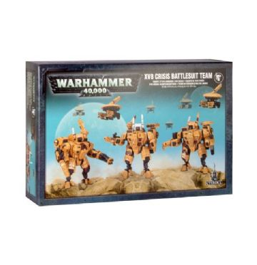 Games Workshop Warhammer 40000 40K XV8 Crisis Battlesuit Team 56-07